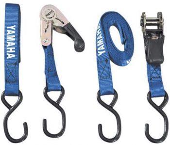Yamaha Blue Ratcheting Tie Downs